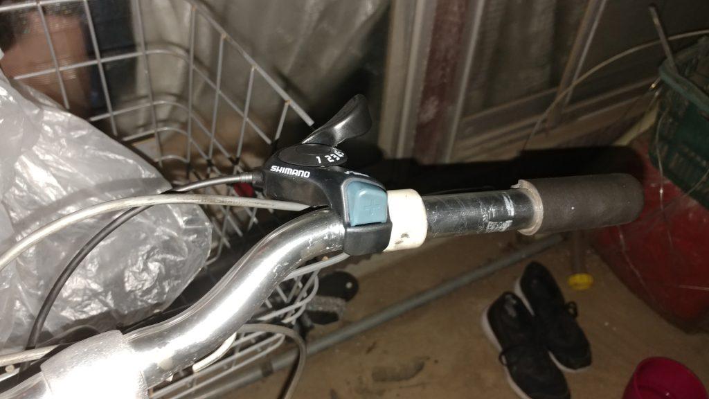 自転車のシフターとシフトワイヤーを交換した